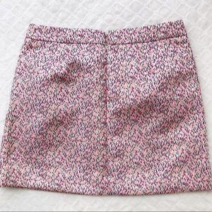 Jcrew Factory jacquard knit skirt